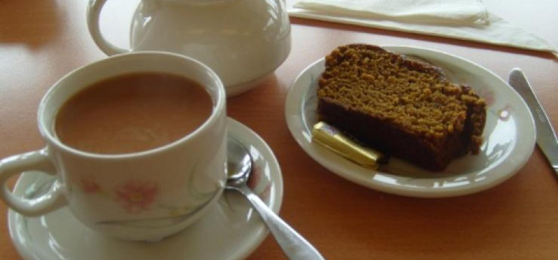 Cuppa and cake